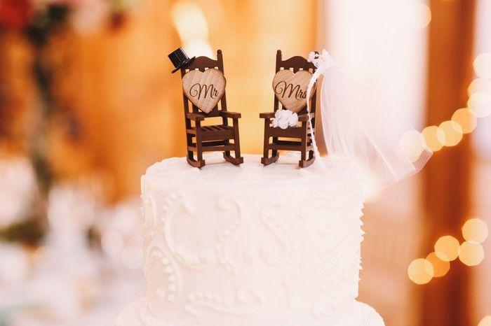 "Darias o teu ""Sim, quero"" a este Cake Topper? 1"