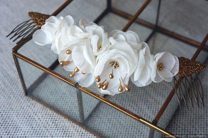 Com toucado ou coroa de flores? 1