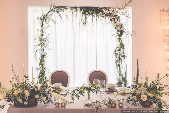 Vais ter mesa só para os noivos? 1