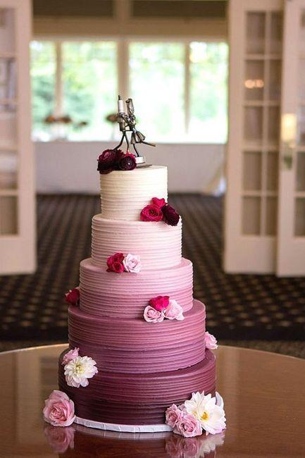 2 bolos, 2 cores: O mais votado é.. 2