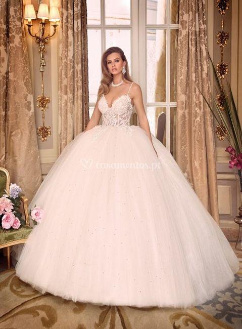 Decide o look da noiva: O CORTE DO VESTIDO 3