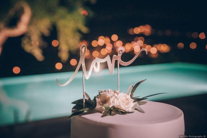 Real Wedding: Qual topo de bolo preferes? 2
