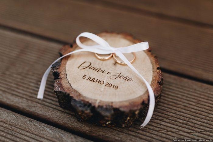 Real Wedding: Qual porta-aliança preferes? 1