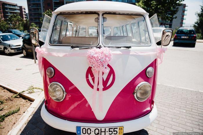 Real Wedding: Qual carro preferes? 1