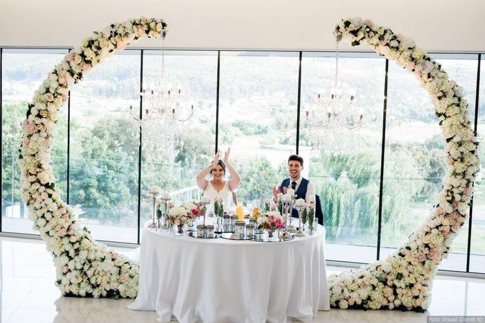 Real Wedding: Qual mesa de noivos preferes? 1