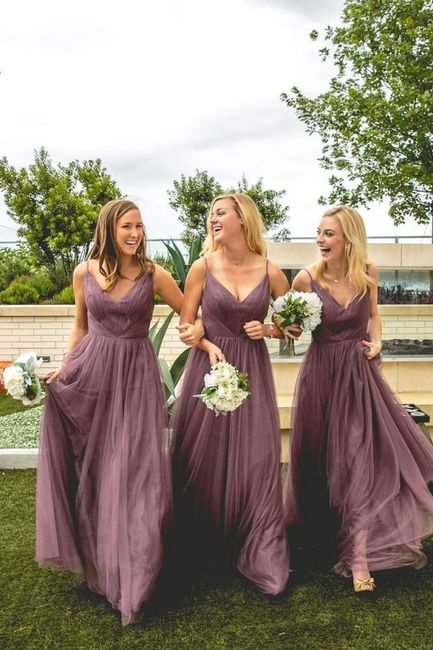 Decide o look das tuas damas de honor para o casamento! 1