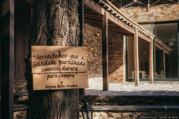 Dúvidas sobre o tema de casamento: A placa de boas-vindas 3