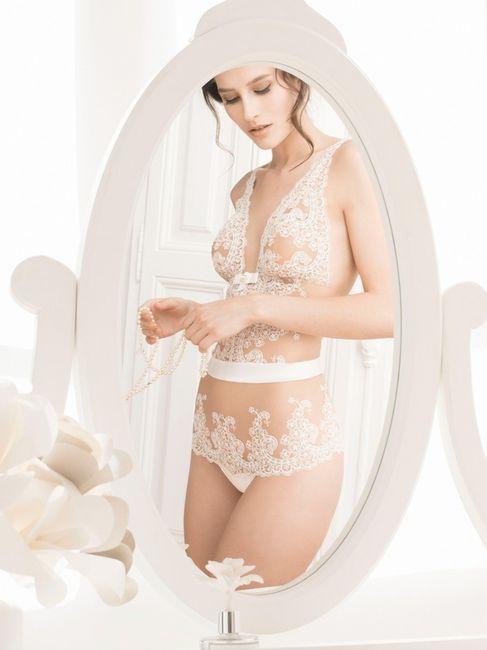 Esta lingerie... PROIBIDA no meu dia C! 1