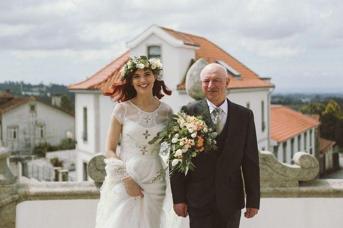 Clássica ou moderna: A entrada da noiva 1