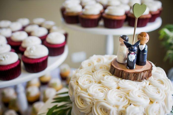 Que cake topper replicarias? 2