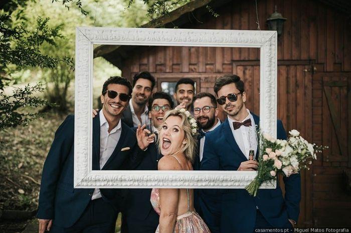 Quantos padrinhos vão ter no vosso casamento? 1