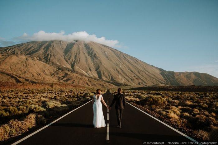 Qual foi o primeiro destino que visitaram juntos? 💕🗺️ 1