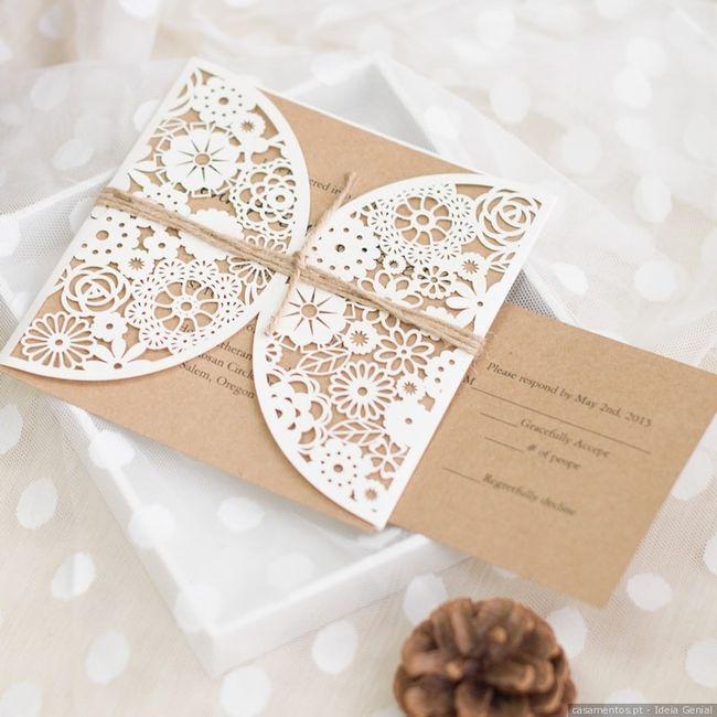 O teu convite de noiva ideal: qual é? 3
