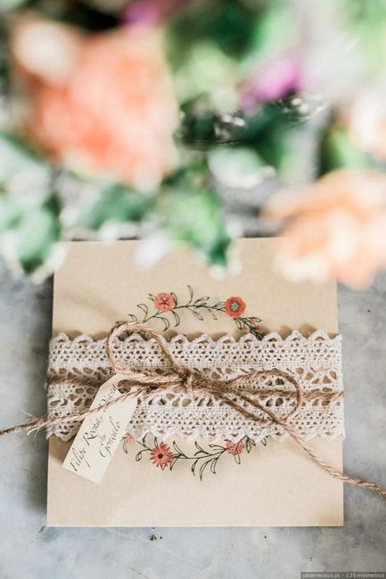 O teu convite de noiva ideal: qual é? 2