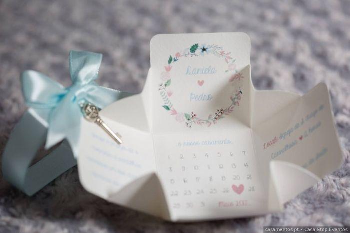 O teu convite de noiva ideal: qual é? 5