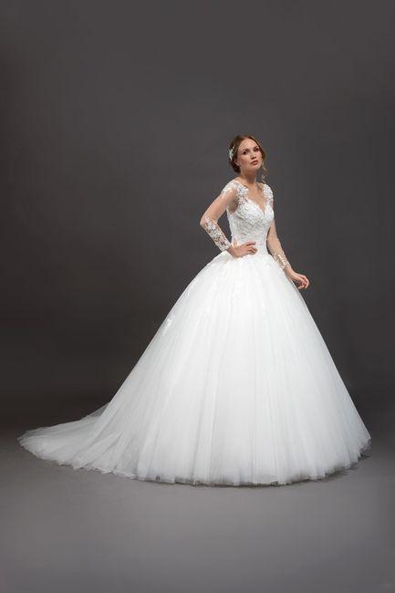 Que vestido de noiva escolhes? 👗 1