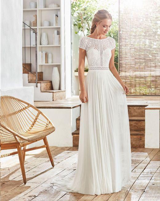 Que vestido de noiva escolhes? 👗 2