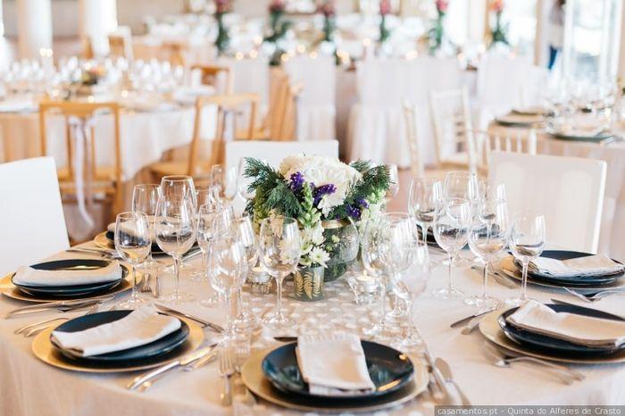 As mesas: formato redondo ou retangular? 1
