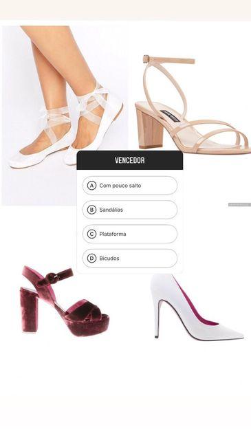Que estilo de sapato vence? 1