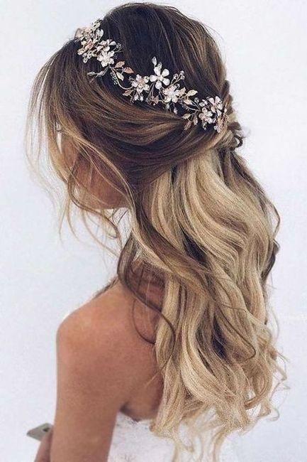 Vamos casar a admin Isa: o penteado 1