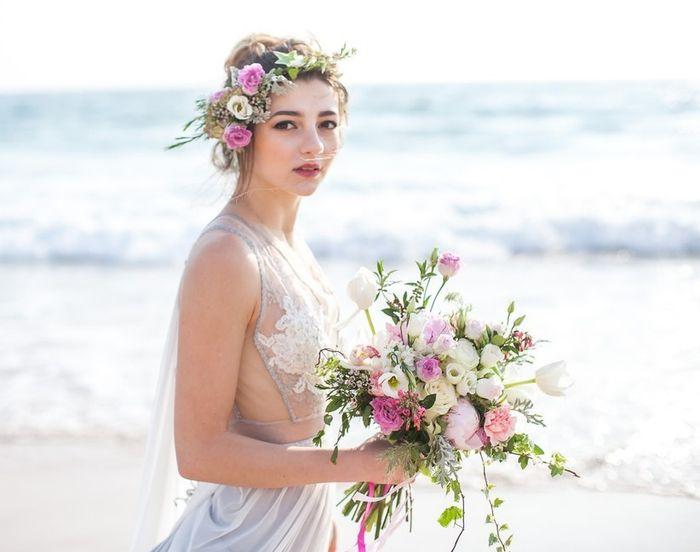 Comprei o meu vestido de noiva na loja_________ 1