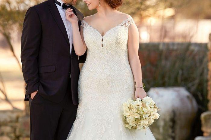 O corte do meu vestido de noiva é _____________ 1