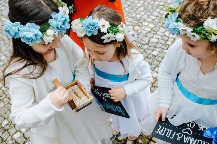 Quantas crianças vão ao teu casamento? 1