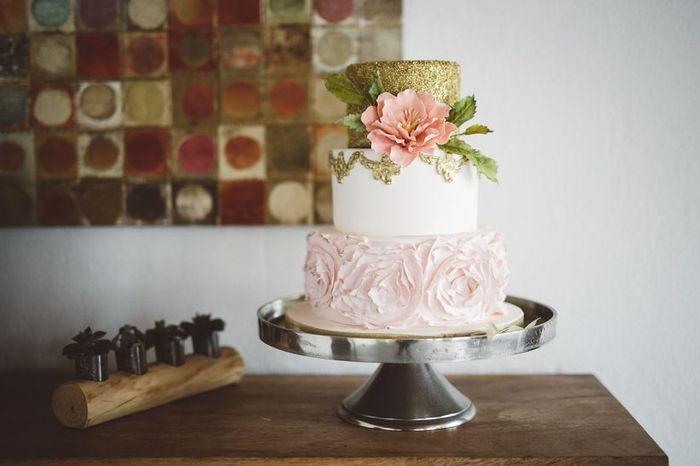 Quantos andares vai ter o teu bolo de casamento? 1
