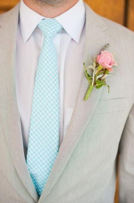 Combinar a gravata com o boutonniere? Claro que sim! 🤵🏽 1