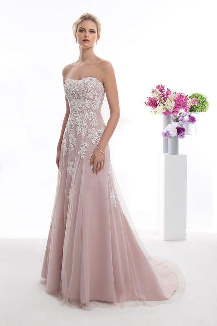 Vestido de noiva com cor: qual? 1