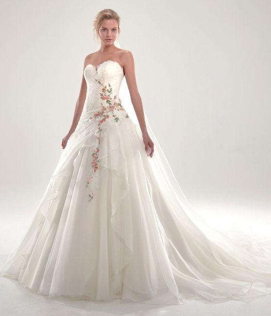 Vestido de noiva com cor: qual? 2