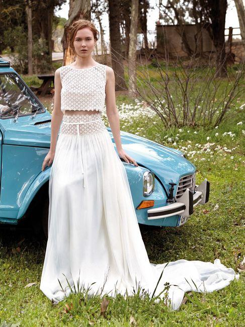 Vestido de noiva crop top: qual? 2