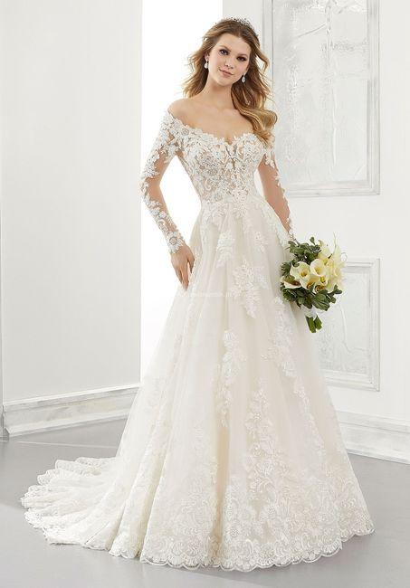 Vestido de noiva rendado: qual? 2