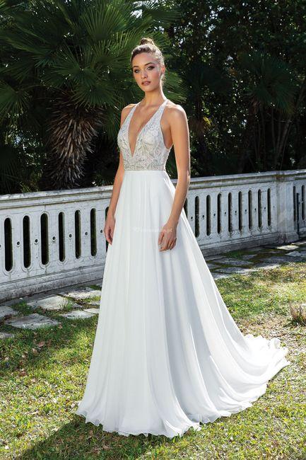 Casamentos ao ar livre: o vestido 1