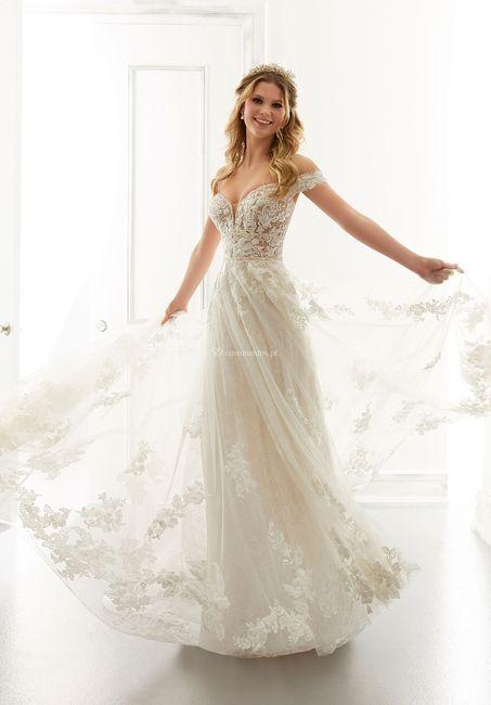 Casamentos ao ar livre: o vestido 2