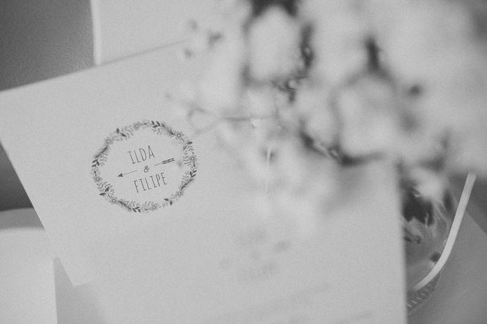 Branco ou com cor: os convites de casamento! 1