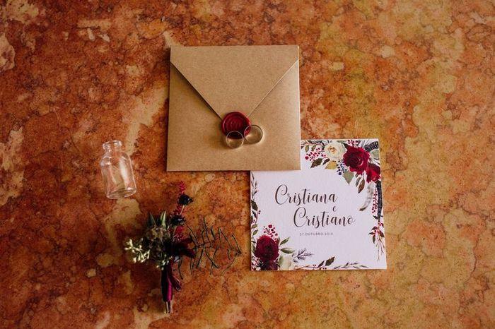 Branco ou com cor: os convites de casamento! 2