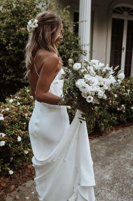 Aposta pelo minimalista: 5 inspirações para o look de noiva 👰🏽 2
