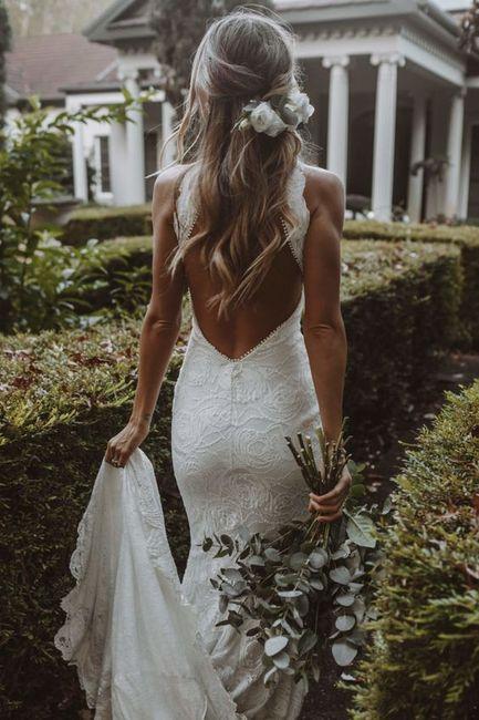 Aposta pelo minimalista: 5 inspirações para o look de noiva 👰🏽 5
