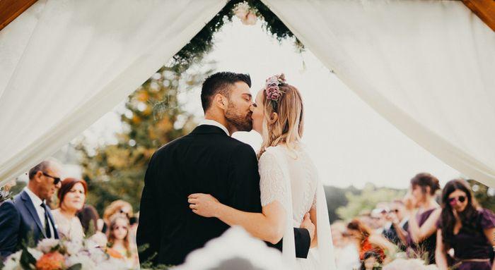 3. Primeiro beijo dos recém casados 2