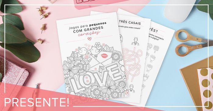 Ganha o livro de atividades para as crianças do teu casamento aqui! 👇🎁 1