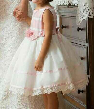 Vestido menina das alianças - 1