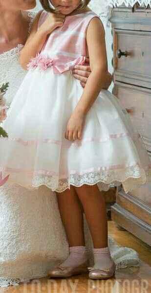 Vestido menina das alianças - 2