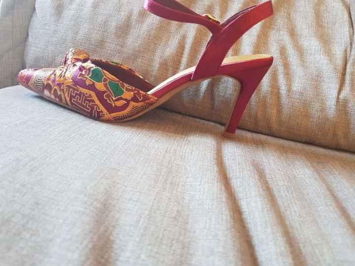 Segundo Calçado - para a dança ou quando os pés cansarem!