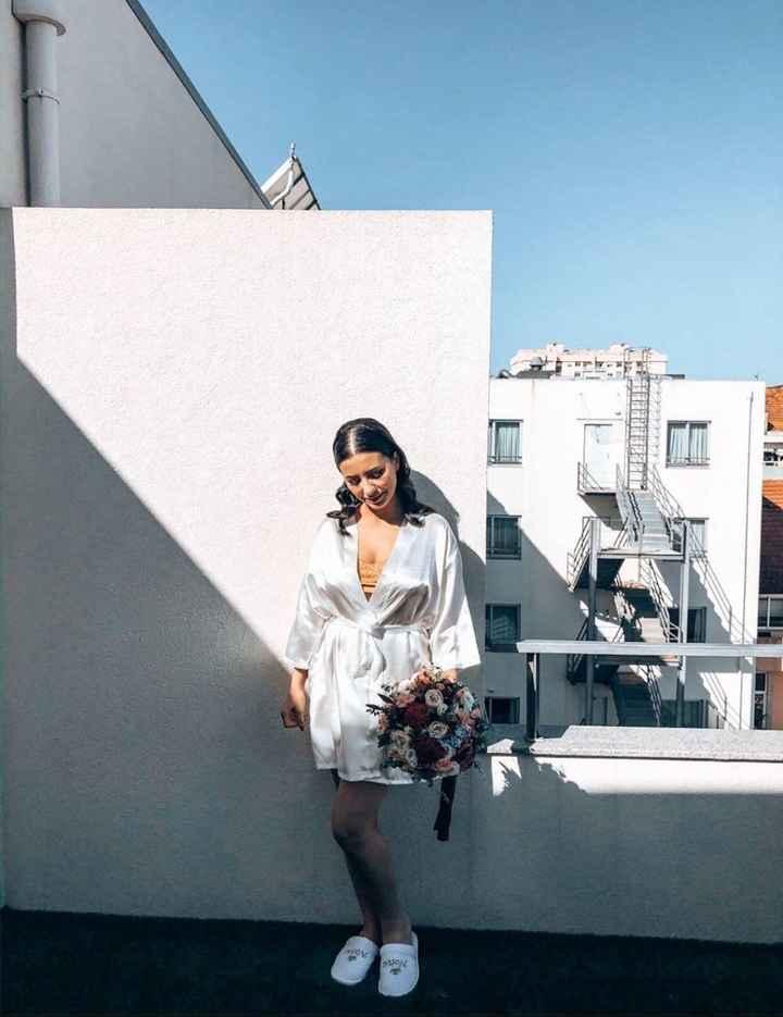 Casada(os) de Fresco: foi há 4 semanas :) - 5