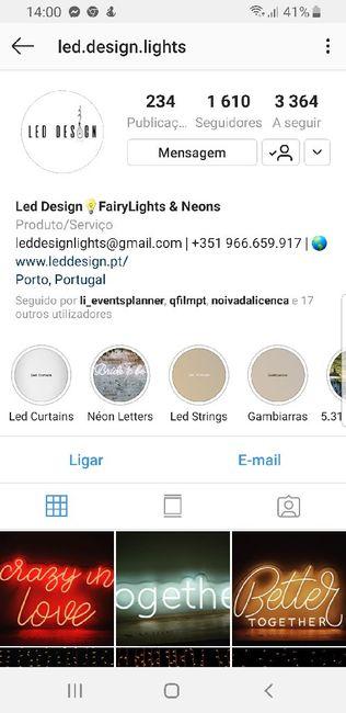 Cortina de luzes - 1