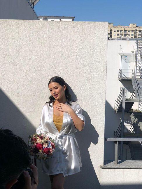 Casada(os) de Fresco: foi há 4 semanas :) 7