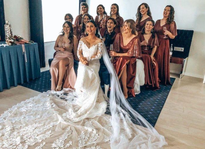 Casada(os) de Fresco: foi há 4 semanas :) - 12