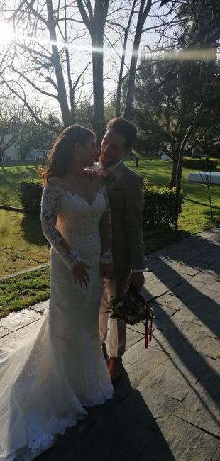 Casada(os) de Fresco: foi há 4 semanas :) 34