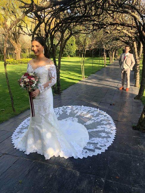 Casada(os) de Fresco: foi há 4 semanas :) 35